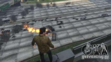 Тепловое зрение Супермена 1.1 для GTA 5 третий скриншот