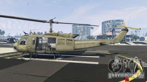 Bell UH-1D Iroquois Huey для GTA 5 второй скриншот