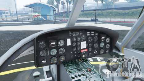 Bell UH-1D Huey Royal Canadian Air Force для GTA 5 пятый скриншот