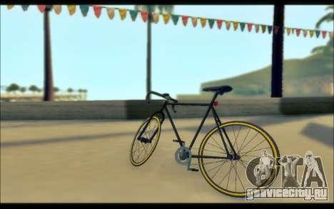 Мод из GTA V Fixter для GTA San Andreas вид сзади слева