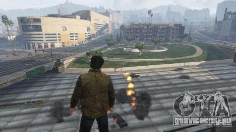 Тепловое зрение Супермена 1.1 для GTA 5 пятый скриншот
