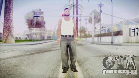 GTA 5 Grove Gang Member 3 для GTA San Andreas второй скриншот
