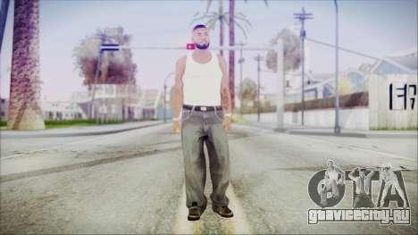 GTA 5 Grove Gang Member 3 для GTA San Andreas второй скриншот