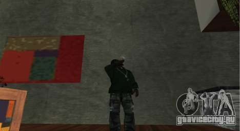 Итальянский бар Gangstaro в Лос-Сантосе для GTA San Andreas четвёртый скриншот