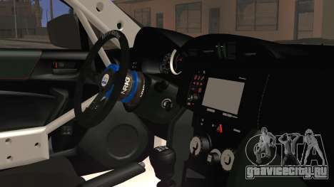Toyota GT86 Speedhunters для GTA San Andreas вид справа