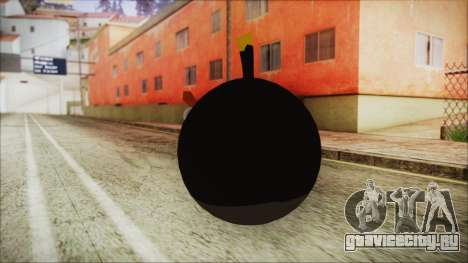 Angry Bird Grenade для GTA San Andreas второй скриншот