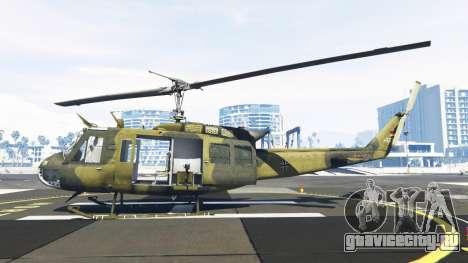 Bell UH-1D Huey Bundeswehr для GTA 5 второй скриншот