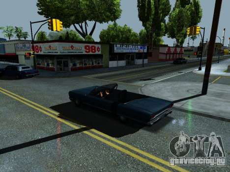 ENB Simple HD v1 для GTA San Andreas третий скриншот