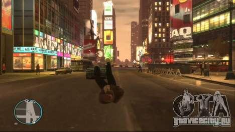 Ragdoll Mod для GTA 4 второй скриншот