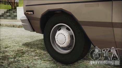 Dodge Dart 1975 для GTA San Andreas вид сзади слева