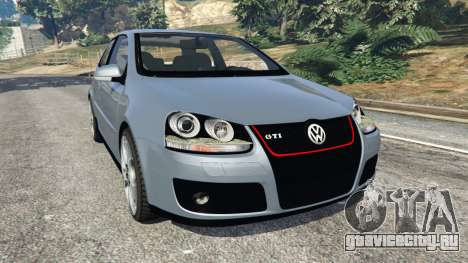 Volkswagen Golf Mk5 GTI 2006 для GTA 5