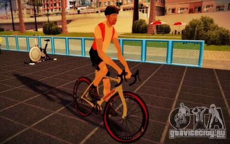 GTA V Endurex Race Bike для GTA San Andreas вид сзади слева