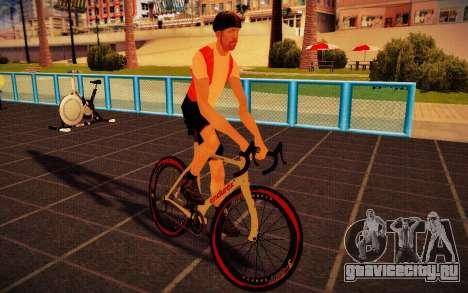 GTA V Endurex Race Bike для GTA San Andreas вид сзади слева