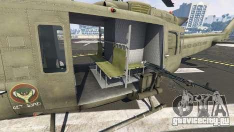 Bell UH-1D Iroquois Huey для GTA 5 шестой скриншот
