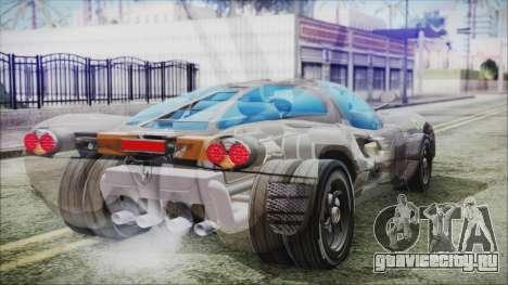 Ferrari P7 для GTA San Andreas вид слева