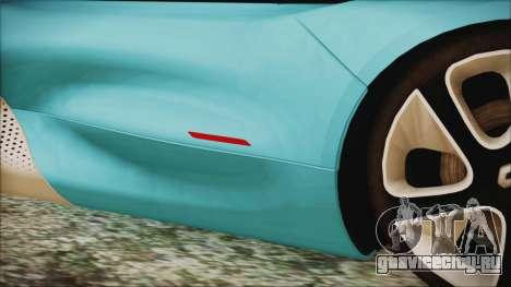 Renault Dezir Concept 2010 v1.0 для GTA San Andreas вид сбоку