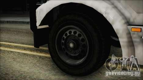 Indonesian Benson Truck In Real Life Version для GTA San Andreas вид сзади слева
