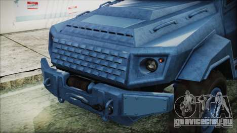 GTA 5 HVY Insurgent Van IVF для GTA San Andreas вид сзади