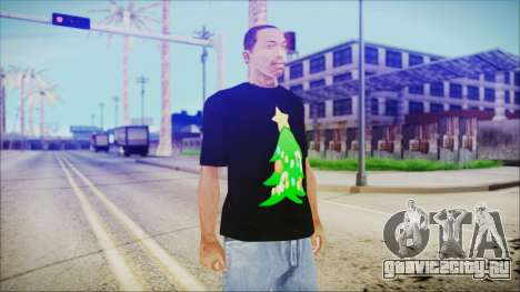 T-Shirt Christmas Tree для GTA San Andreas