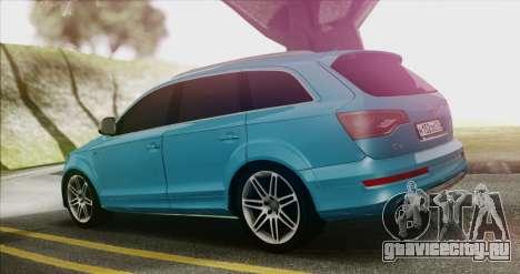 Audi Q7 для GTA San Andreas вид слева