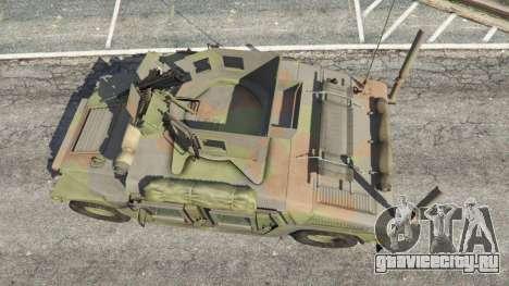 HMMWV M-1116 [woodland] для GTA 5