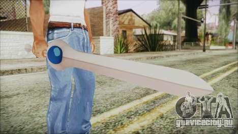 Finn Sword from Adventure Time для GTA San Andreas