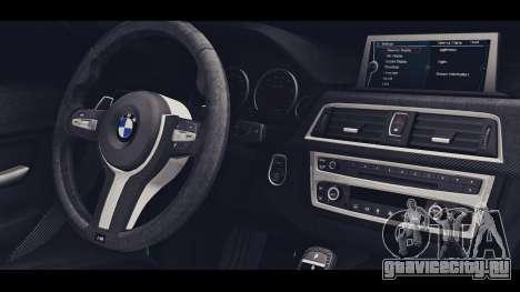 BMW M3 F30 IND EDITION для GTA San Andreas вид справа