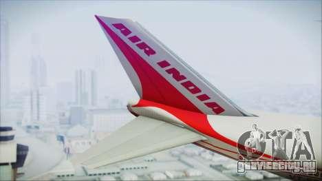 Boeing 747-237Bs Air India Emperor Ashoka для GTA San Andreas вид сзади слева