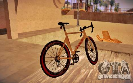 GTA V Endurex Race Bike для GTA San Andreas вид слева