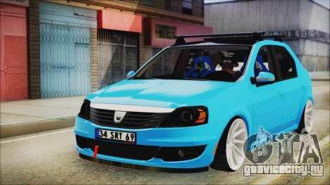 Dacia Logan Cadde Style для GTA San Andreas