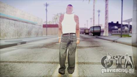 GTA 5 Grove Gang Member 3 для GTA San Andreas третий скриншот