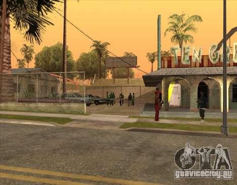 Братки у бара для GTA San Andreas четвёртый скриншот