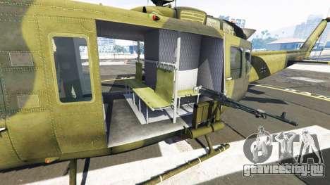 Bell UH-1D Huey Bundeswehr для GTA 5 шестой скриншот