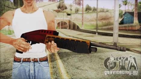 Xmas SPAS-12 для GTA San Andreas третий скриншот