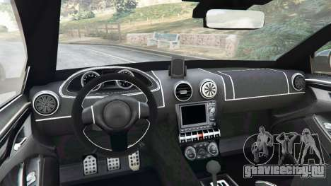 Skoda Octavia VRS 2014 [estate] для GTA 5 вид сзади справа