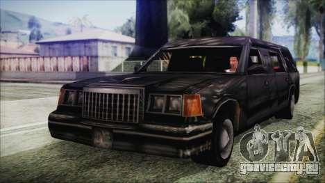 The Romeros Hearse для GTA San Andreas
