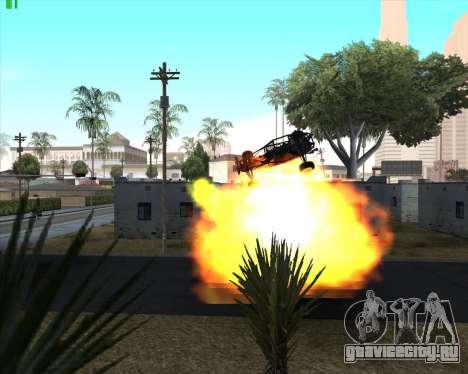 Безумие в штате San Andreas v1.0 для GTA San Andreas десятый скриншот