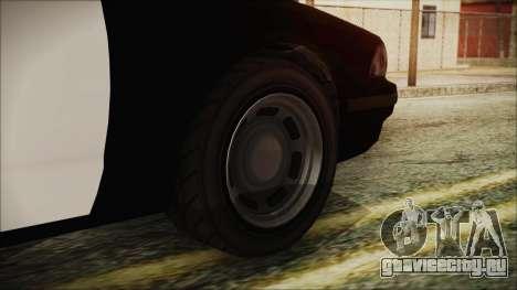 GTA 5 Vapid Stranier II Police Cruiser для GTA San Andreas вид сзади слева