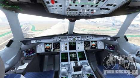 Airbus A380-800 для GTA 5 пятый скриншот