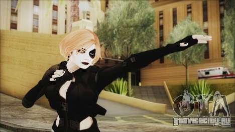 Blonde Domino from Deadpool для GTA San Andreas