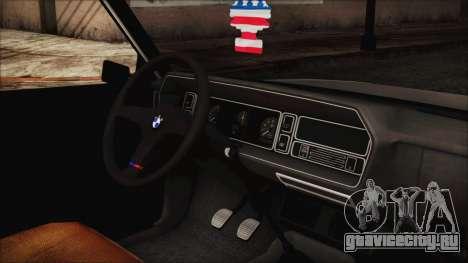 Tofas 131 Mirafiori Edition для GTA San Andreas вид справа