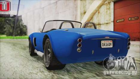 GTA 5 Declasse Mamba для GTA San Andreas вид слева