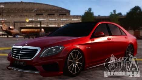 Mercedes-Benz S63 W222 AMG для GTA 4