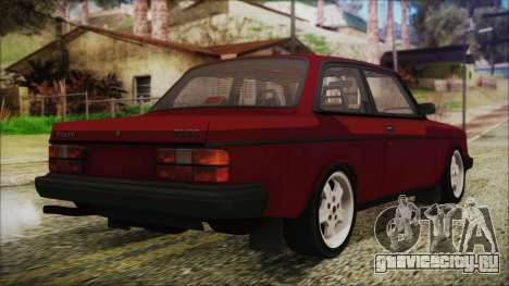 Volvo Turbo 242 Evolution Turbo 1983 для GTA San Andreas вид слева