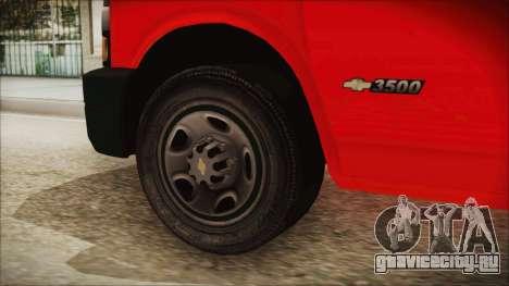 Indonesian PMI Ambulance для GTA San Andreas вид сзади слева