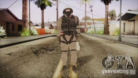 XOF Soldier (Metal Gear Solid V Ground Zeroes) для GTA San Andreas второй скриншот