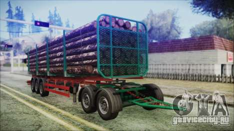 Iveco EuroTech Forest Trailer для GTA San Andreas