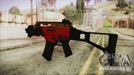 Xmas G36C для GTA San Andreas второй скриншот