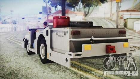BF3 Push Car для GTA San Andreas вид слева