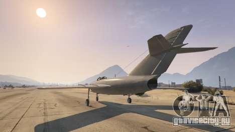 МиГ-15 для GTA 5 третий скриншот